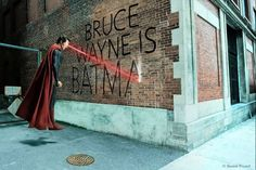 """Daniel Picard : """"Went back 3 years later and shot the other side of the building for Superman's version!"""""""
