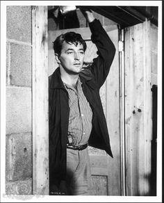Robert Mitchum in Thunder Road. Love those bad boys