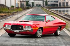 1972 Ford Gran Torino - Shot 1 by AmericanMuscle on DeviantArt American Dream Cars, American Muscle Cars, Ford Torino, Car Ford, Ford Gt, Grand Torino, Mercury Cars, Ford Lincoln Mercury, Ford Classic Cars