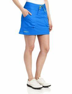 Adidas Golf Women's Climalite Lightweight Pant, Galaxy/warning, X-small
