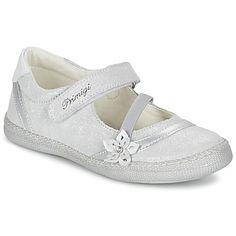 96378d4c5a76 Bailarinas-manoletinas Primigi ROSELINE-E Plateado 61.90 € Zapatos  Cerrados