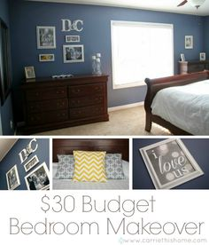bedroom decorating ideas on a budget colors - IKEA Decor, Trendy Bedroom, Master Bedroom Makeover, Bedroom Makeover, Simple Bedroom, Bedroom Decor, Budget Bedroom Makeover, Home Decor, Remodel Bedroom