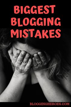 New blogger mistakes you really want to avoid. Top blogging errors you can definitely fix right now.
