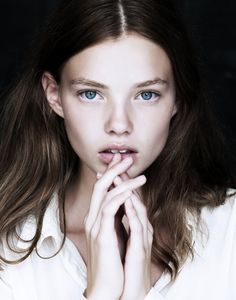 Kristine Froseth by Evan Browning #natural #beauty #makeup