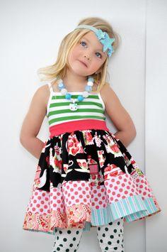 KPea 'Rosemary Tea' Tank Dress