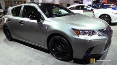 2016 Lexus F-Sport - Exterior and Interior Walkaround - 2016 New York Auto Show Lexus Ct200h, Sexy Cars, Car Stuff, Cool Cars, Dream Cars, Trucks, Exterior, York, Architecture