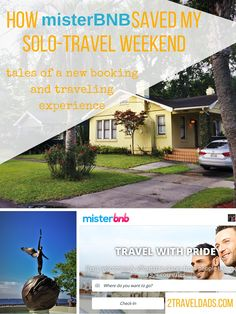 For the first time doing solo travel in 12 years, booking with MisterBNB proved to be the perfect way to have a great weekend without the family. 2traveldads.com