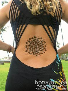 Henna Gallery - Backs - Kona Henna Studio Hawaii