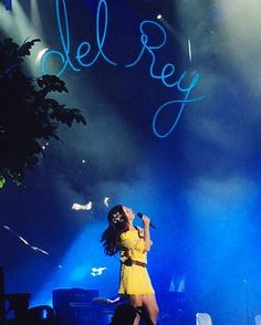 Lana performing at 'Osheaga Festival' in Montreal, Canada