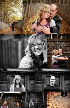 Photography:  Stunning ENGAGEMENT or COUPLES poses - must be 50 portraits.  Fabulous photographer!