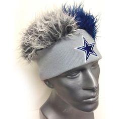 c1e1ce1148781 Dallas Cowboys Flair Hair Beanie