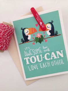 NEW Love Cards by Seltzer Goods