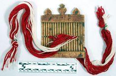 Antique Norwegian Band Weaving Loom.