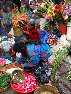 People of Chichicastenango