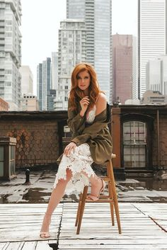 in a nutshell? this is it. : Sarah Rafferty photographed by Alex Hutchinson for...