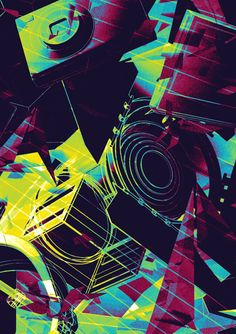 Posters by Alex Beltechi, via Behance