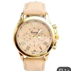 ‼️ NEW 3 LEFT‼️ Pretty Beige Watch Super stylish beige watch! 5 in stock, let me know and I'll make a new listing for you Accessories Watches