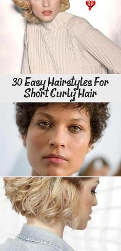 30 Easy Hairstyles for Short Curly Hair, If you have difficulty shaping your wavy hair in the morning, maybe the problem is in haircut. If you want to control your waves and shape your hair e..., Short Haircuts #curlyhairProm #curlyhairHaircuts #curl Curly hair problems Curly-hair-problems Perms Curly hair Natural curls Curly girl Naturally curly Curly hair products Curly hair tips Curly weaves Biracial hair Beauty products Products Nail art Manicures Body care Nail polish Gel polish D<br> Curly Hair Braids, Haircuts For Curly Hair, Curly Hair Tips, Short Curly Hair, Curly Girl, Short Haircuts, Wavy Hair, Easy Hairstyles, Curly Hair Styles