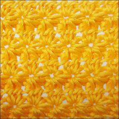 Flower Crochet Stitch