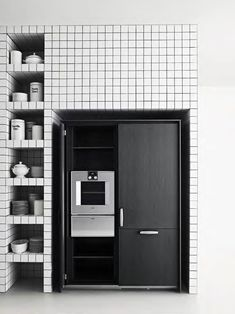 Self-contained kitchens and islands: Kitchen On/Off ST by Boffi - kitchens