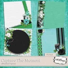 Capture The Moment - Stacked Papers by AADesigns