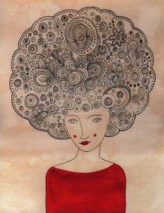 Doodle Time...Doodle Hair