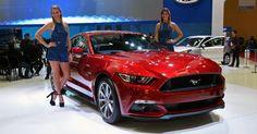 Ford exibe Mustang GT 5.0 V8 no Salão de Buenos Aires 2015