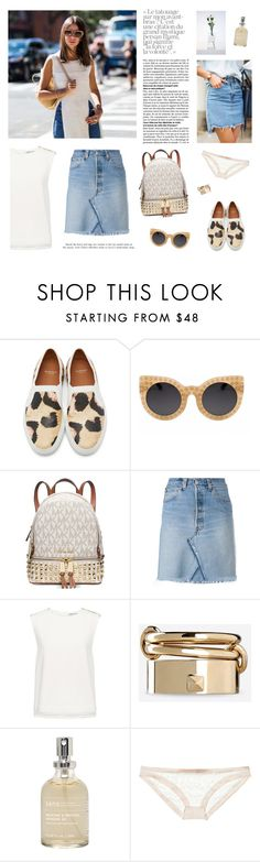 """04.07"" by elena-kov ❤ liked on Polyvore featuring Givenchy, Michael Kors, RE/DONE, Finders Keepers, Valentino, Sans [ceuticals], Mimi Holliday by Damaris, fashionset and polyvorefashion"