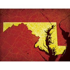 Maryland | City Prints Map Art