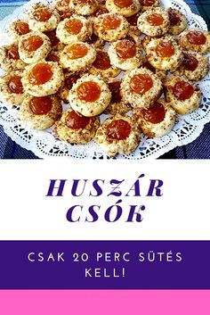 Hungarian Recipes, Holiday Dinner, Raw Vegan, Biscotti, Christmas Cookies, Bakery, Stuffed Mushrooms, Dessert Recipes, Food And Drink