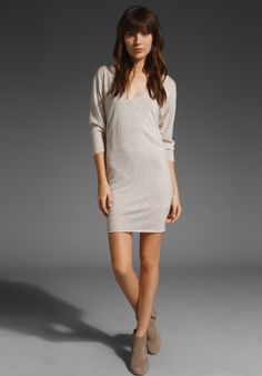 Cashmere Tunic Dress - American Vintage