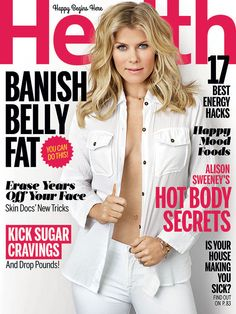 Alison Sweeney Poses Braless for Health, Talks About Her ''Big Change'' After Days of Our Lives