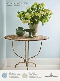Benjamin Moore Color of the year 2014