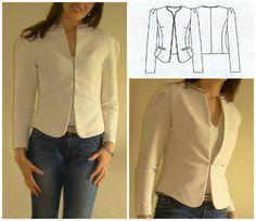 Мода в моды куртки Шаблоны