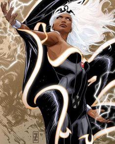 The Marvel(ous) Art Of Patrick Zircher Comic Book Artists, Comic Artist, Comic Books Art, Black Panther Storm, Black Panther Marvel, Univers Marvel, Marvel Comics Art, Marvel X, Marvel Heroes