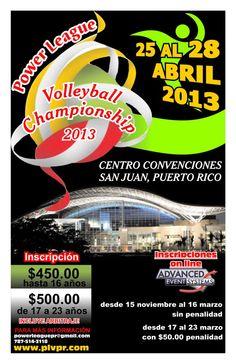 Power League @ Centro de Convenciones, San Juan