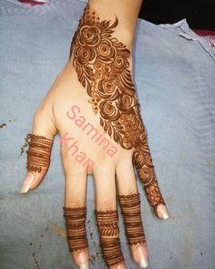 Ruk Dubai Mehendi Designs, Khafif Mehndi Design, Mehndi Designs Book, Finger Henna Designs, Indian Mehndi Designs, Modern Mehndi Designs, Mehndi Design Pictures, Wedding Mehndi Designs, Mehndi Designs For Fingers