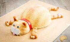 Gâteau d'anniversaire chat façon entremets fruits rouges et lait d'amande - Sucre d'Orge et Pain d'Epices