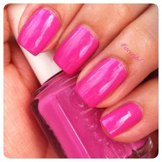 Two coats and no top coat of Madison Ave-Hue by Essie. #nails #nailpolish #swatches #Essie .     Instagram: accnpl