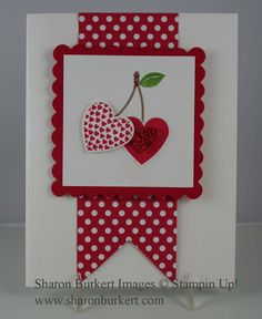 Interesting use of button buddy cherry stamp