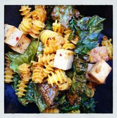 Friday 5 :: Pasta + Tofu + Kale