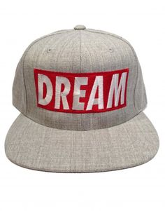 Head in the Clouds Grey & Red Men's Snapback Hat $19.95