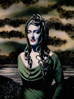 Medusa – Pierre et Gilles ( art / collage / mixed media / greek mythology )