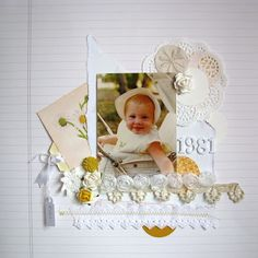 Paper and Pins... my handmade journey: White on white... by Leonie Waldron