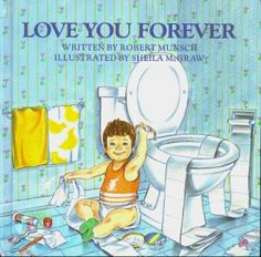 Love-You-Forever.  An amazing childrens book.  However, I gave this to my mother as a Christmas gift 5 years ago and read it to her on Christmas morning...the most cherished Christmas moment ever!