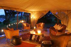 Tented Camp Lounge - Masai Mara