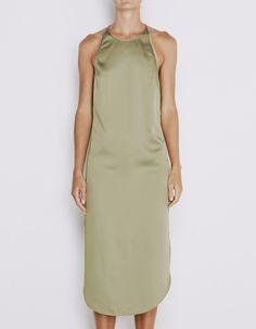 Heirloom Midi Dress - Green Tea Green Midi Dress, Latest Fashion Design, High Neck Dress, Dresses For Work, Bridesmaid, Tea, Clothes, Shopping, Women