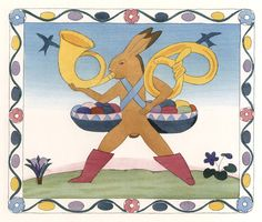 The Rabbit Book of K. F. E. Von Freyhold for Hasenbuch (Germany, 1908) - 50 Watts