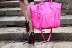 Louboutins and Milly bag