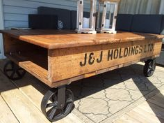 Industrial Pallet Coffee Tables - modern - coffee tables - toronto - by The Refined Pallet